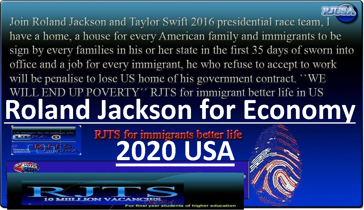 2020 USA ELECTION ROLAND JACKSON